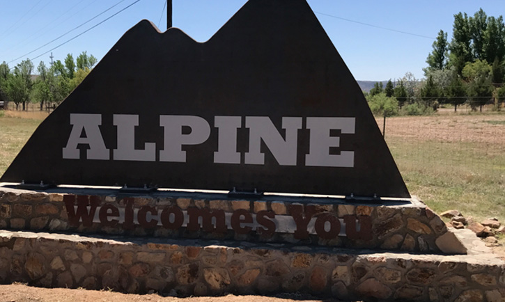 Alpine Sign - Kegley